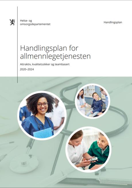 Forside Handlingsplan allmennlegetjenesten 2020-2024