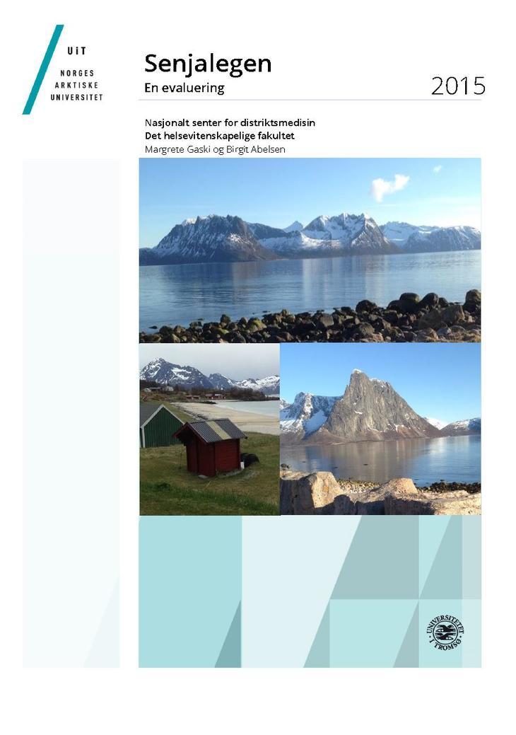 Forside Rapport Senjalegen