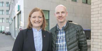Ida Pinnerød og Stian Wik Rasmussen