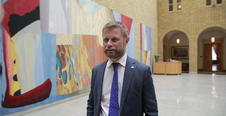 Helse- og omsorgsminister Bent Høie (H)