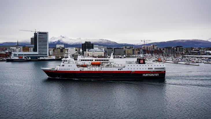 Hurtigruten Vesterålen inn til Bodø